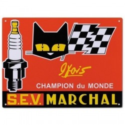 Plaque automobile SEV Marchal