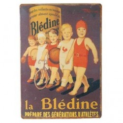 Plaque Bledine Enfants Sports
