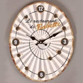 Horloge Psyché Restaurant de Babette