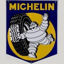 Plaque Bibendum Michelin Mascotte