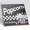 Plaque Popcorn - Hot Buttered