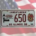 Plaque Illinois Hurricane Katrina