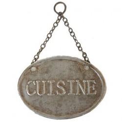 Plaque de porte Cuisine