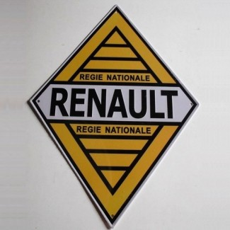 Plaque Régie Nationale Renault