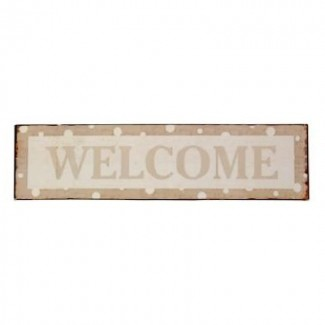 Plaque Welcome Pois