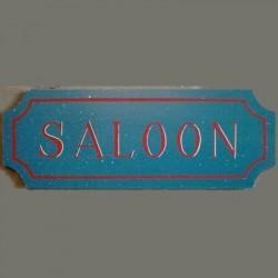 Panneau en bois Saloon
