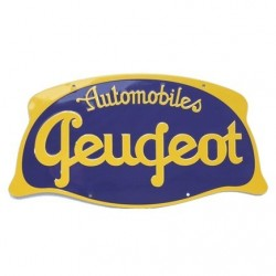 Plaque Automobile Peugeot