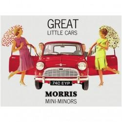 Plaque de pub Mini Morris