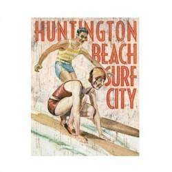 Plaque Huntington Beach Surf City