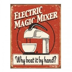Plaque US Electric Magic Mixer