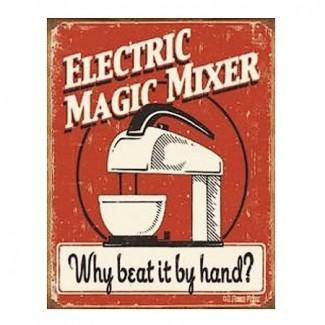 Plaque US Electric Magic Mixer