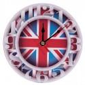 Horloge Ronde Drapeau Britannique