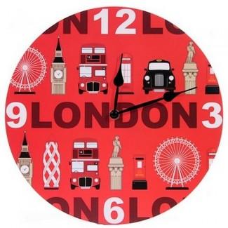 Horloge Pictogrammes Londres