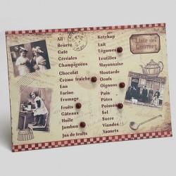 Liste de courses Vieille Famille