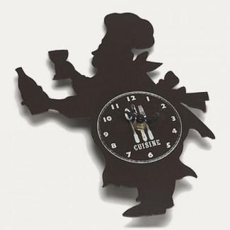 Horloge Cuistot Italien
