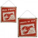 Plaque Fruits de Mer ''Sea Food''