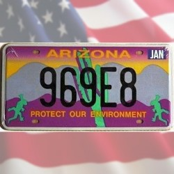 Plaque Arizona Protect Our Environment