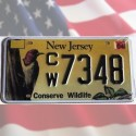 Plaque USA New Jersey - Conserve Wildlife