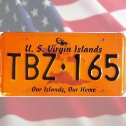 Plaque U.S. Virgin Islands