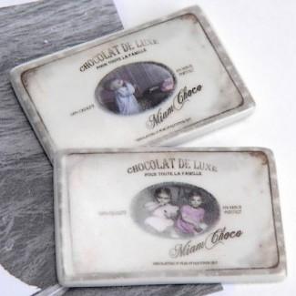 Deux Magnets Chocolat de Luxe