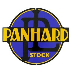 Plaque Panhard Levassor Stock