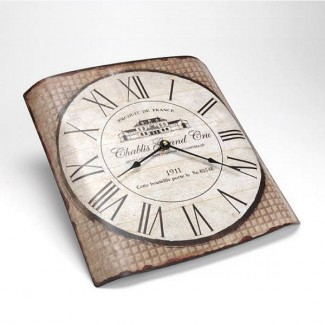 Horloge bombée Chablis Grand Cru