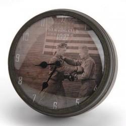 Horloge aimantée Boxe Américaine