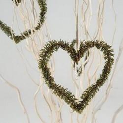 Coeur suspension en pin