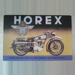 Plaque Horex Moto Allemande