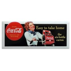 "Magnet Coca ""Easy to take home"""