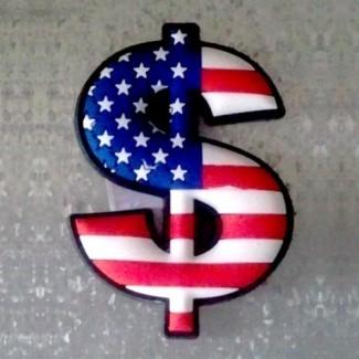 Magnet Dollar Drapeau Américain
