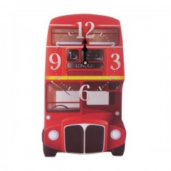 "Horloge en bois ""Bus in London"""