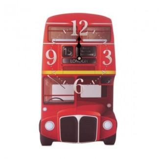 Horloge bois bus à Londres