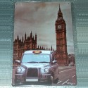 Plaque Taxi and Big Ben