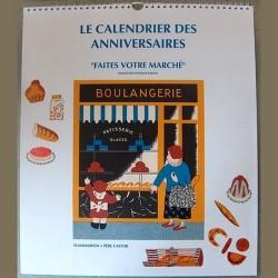 Calendrier anniversaires Père Castor 2