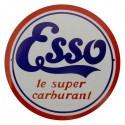 Plaque Esso Super Carburant