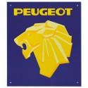 Plaque Lion Peugeot