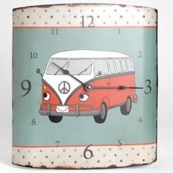 """Horloge bombée """"Combi Volkswagen"""""""