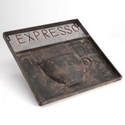 Plaque Vieillie Café Expresso