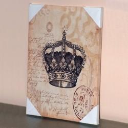 Toile imprimée Couronne Royale