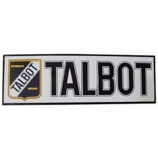 Plaque en relief Talbot