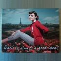 Toile tendue Audrey Hepburn à Paris