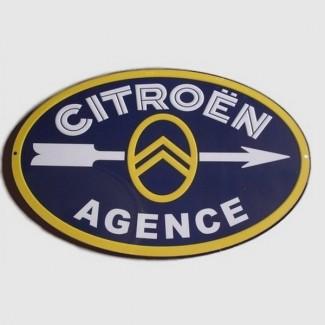 Plaque Agence Citroën
