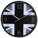 Horloge murale Union Jack N&B