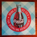 Toile Coca-Cola Drink It Ice Cold