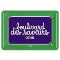 Plaque Boulevard des Saveurs