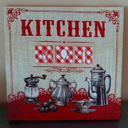 Toile Kitchen Vintage