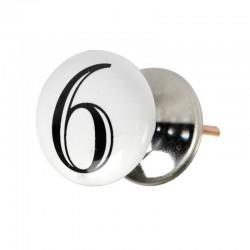 Bouton de porte chiffre 6 ou 9
