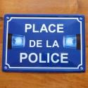 Plaque Place de la Police