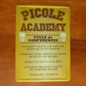 Plaque humoristique Picole Academy